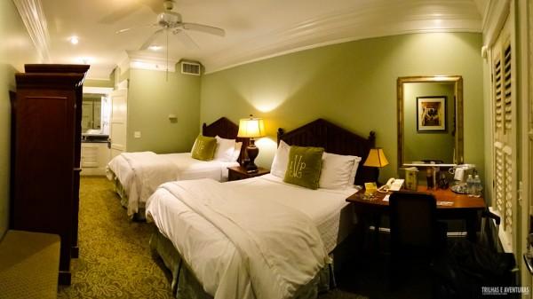 Quarto super luxo no Hotel Village Inn and Pub, em Golden Isles