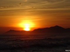 Pôr-do-Sol na Praia da Barra - RJ