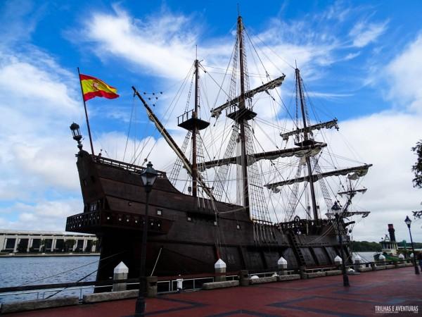 Que tal um tour nesse navio pirata no Rio Savannah?