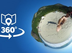 Tour Virtual em 360 graus pelas Praias de Grumari
