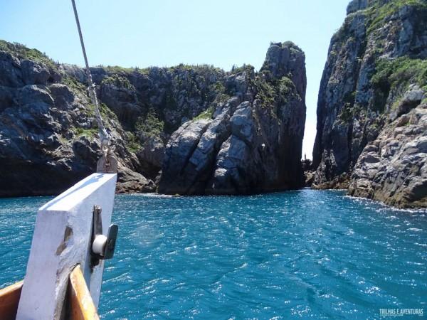 A fenda de Nossa Senhora, em Arraial do Cabo