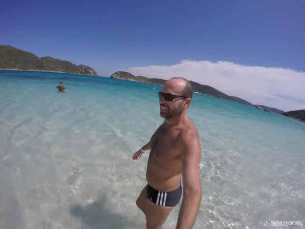 A Praia do Farol praticamente vazia!