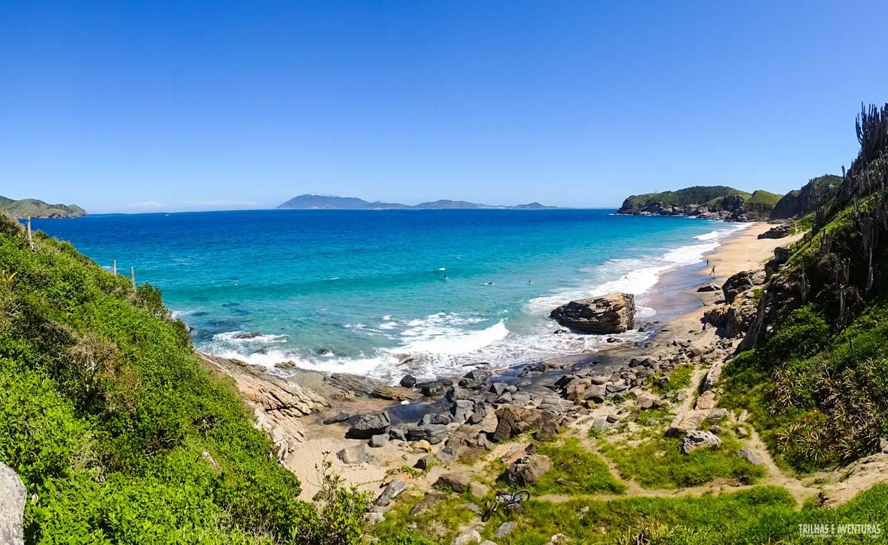 Praia Brava, playa nudista en Brasil
