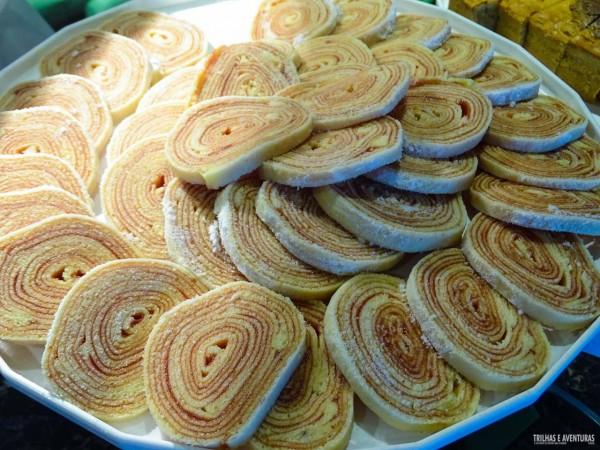 O Bolo de Rolo é um dos doces típicos de Recife e não pode faltar em nenhuma refeição
