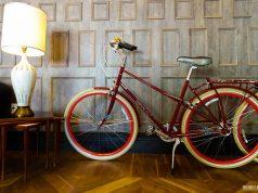 Bikes a disposição dos hóspedes no Kimpton Mason and Rook Hotel