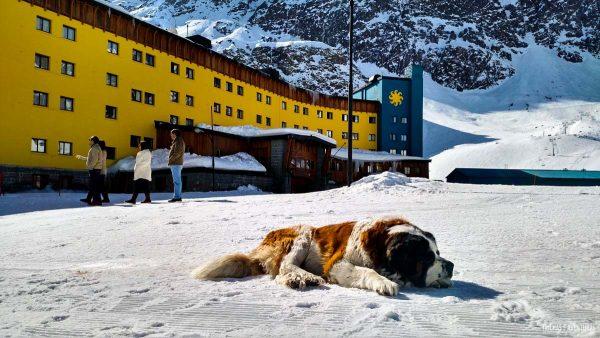 Estação de Esqui Portillo, no Chile