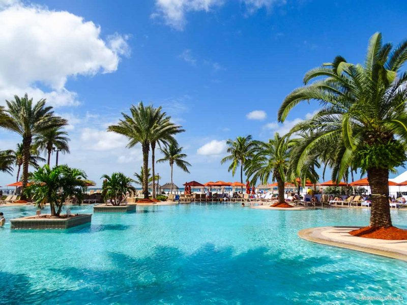 Piscina do hotel JW Marriott Marco Island Beach Resort