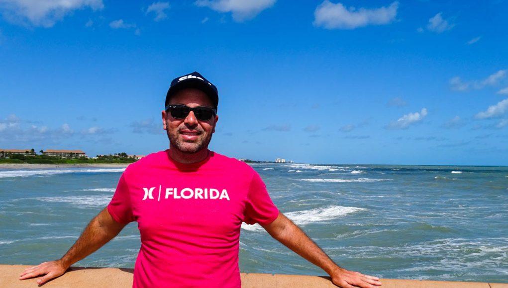 Em um dos piers da região de The Palm Beaches, na Flórida