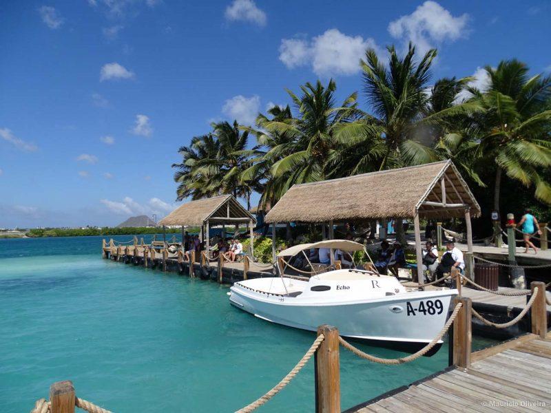 d1fb26832286 Pode parecer muito, mas acredite, um dia na Ilha Privada do Renaissance é  um dia bem gasto, ainda mais para conhecer a praia dos flamingos em Aruba.
