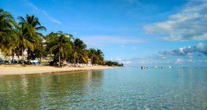 Praia privada de Mammee Bay, exclusiva do RIU Ocho Rios Resort, na Jamaica