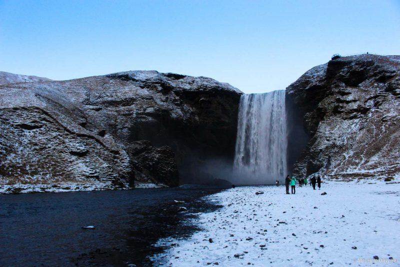 Skógafoss já apareceu em diversos filmes que foram rodados na Islândia