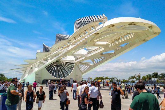 Museu do Amanhã, nova atração do Porto Maravilha no Rio de Janeiro