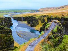 O Vale Fjadrargljufur é um dos tesouros mais secretos da Islândia