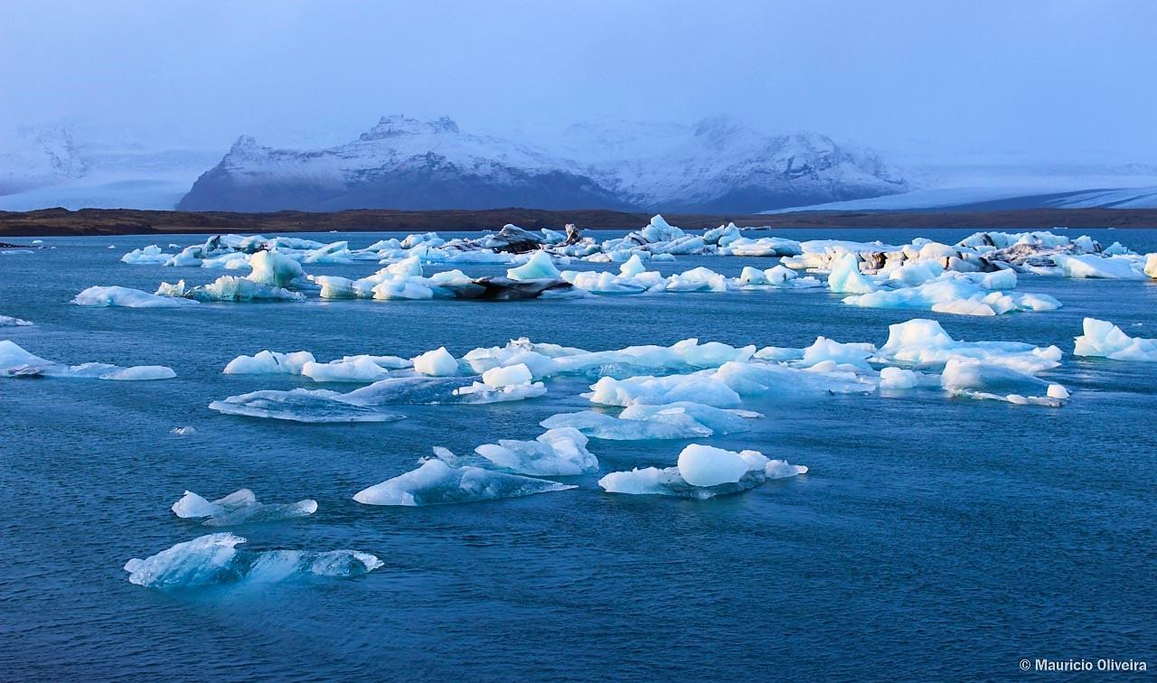 Glacier Lagoon, uma das maravilhas da natureza na Islândia
