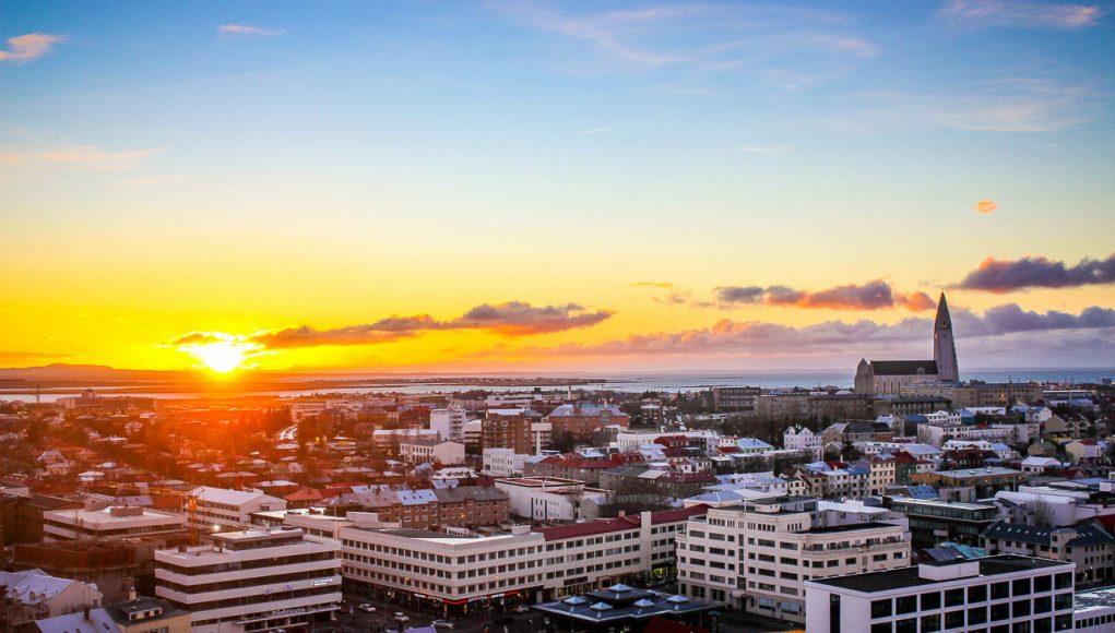 Reykjavík é uma capital encantadora