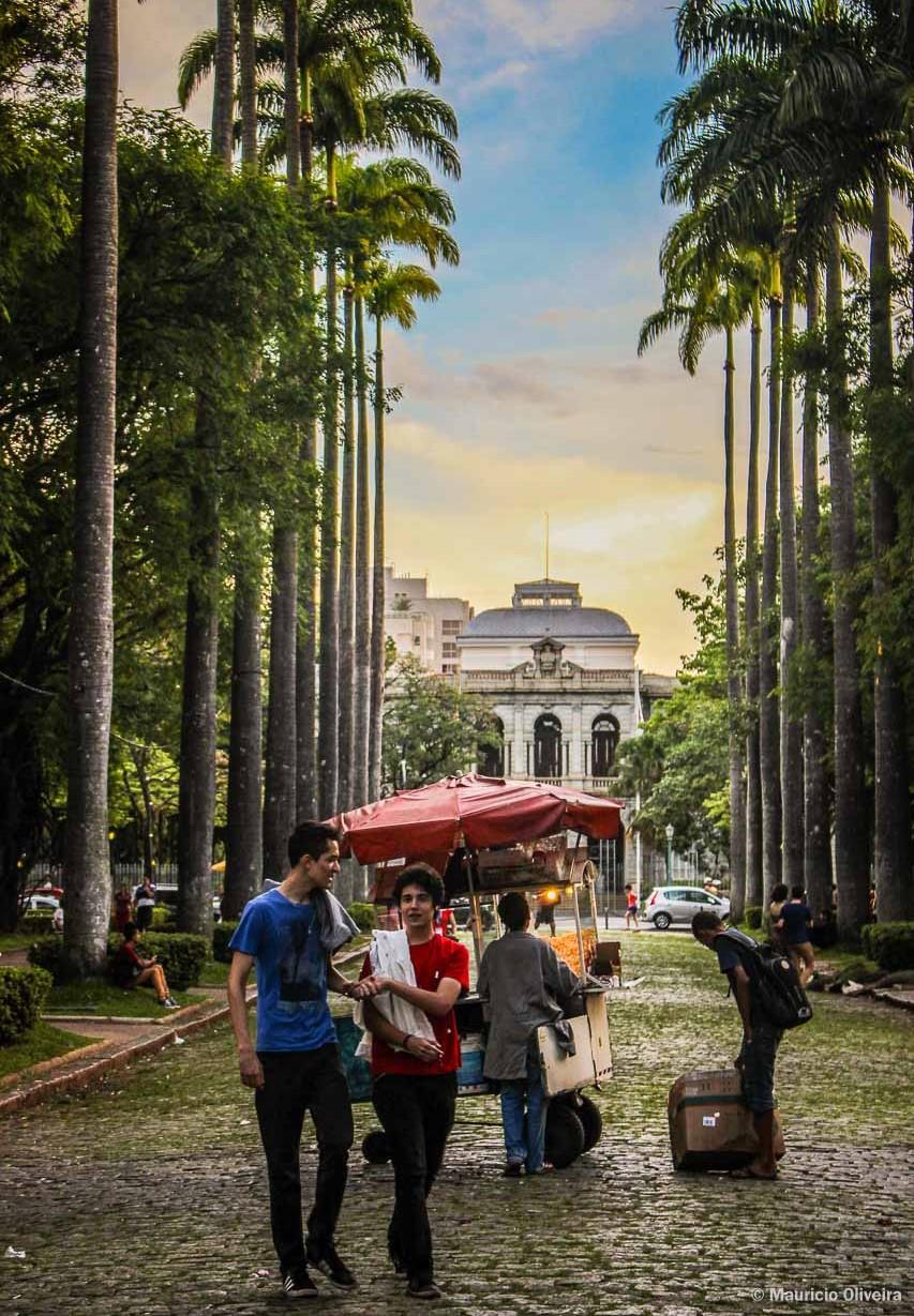 Praça da Liberdade - Um dos cartões-postais de Belo Horizonte