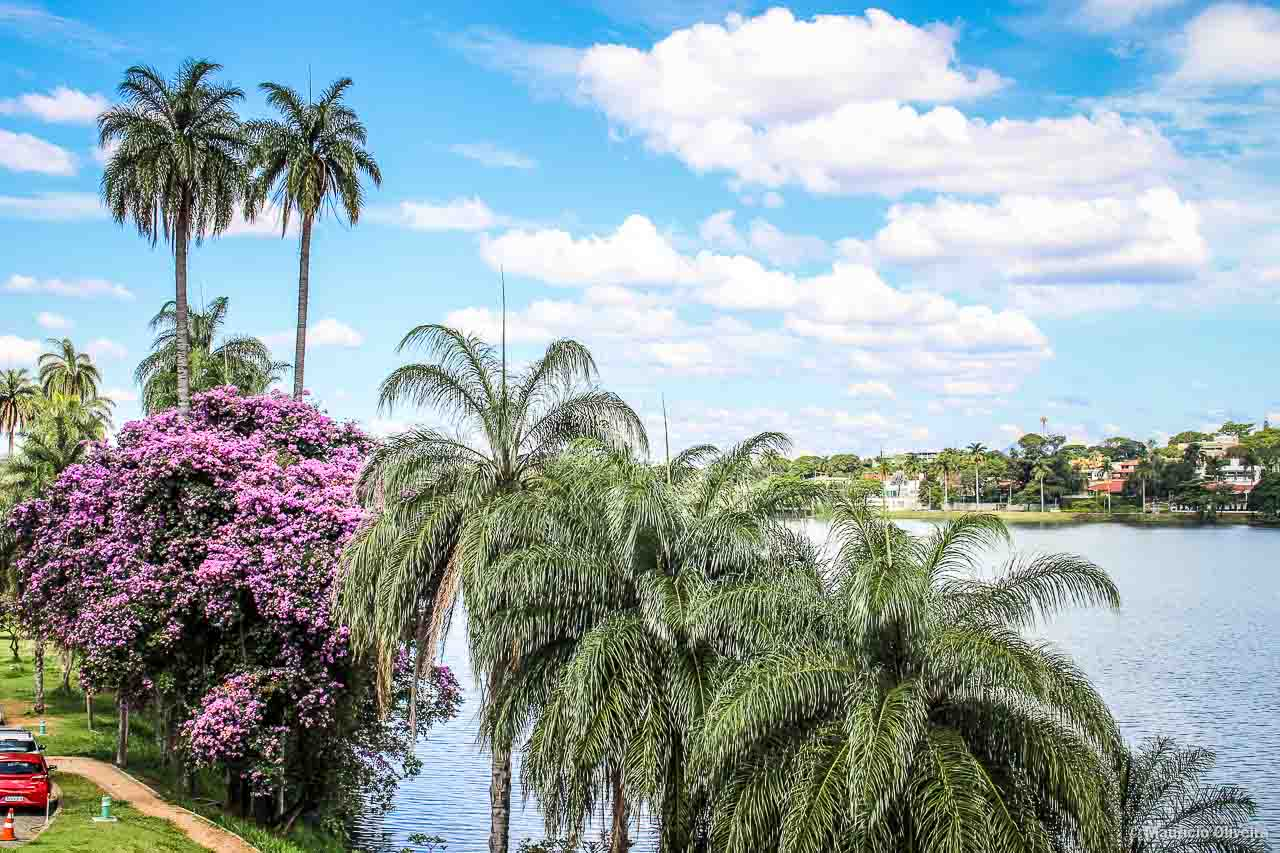 Lagoa da Pampulha, em Belo Horizonte
