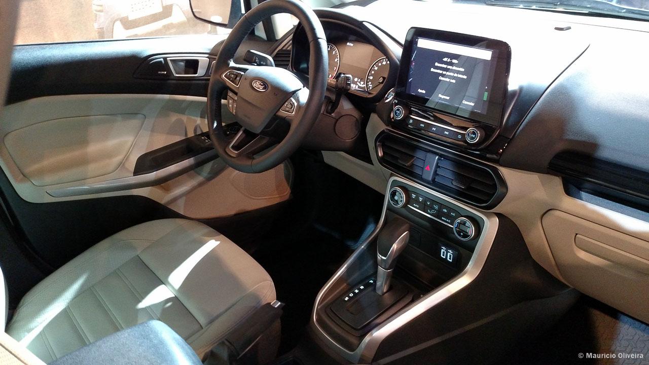 Ford Eco Sport 2017 Interior >> Novo EcoSport 2018 é apresentado no Salão do Automóvel de Buenos Aires - Viagens Possíveis