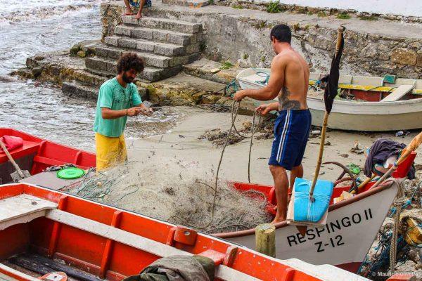 Pesca artesanal em Garopaba - SC