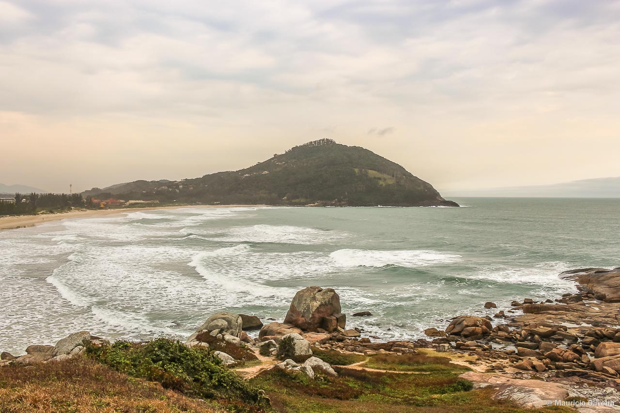 Praia da Ferrugem, em Garopaba - SC