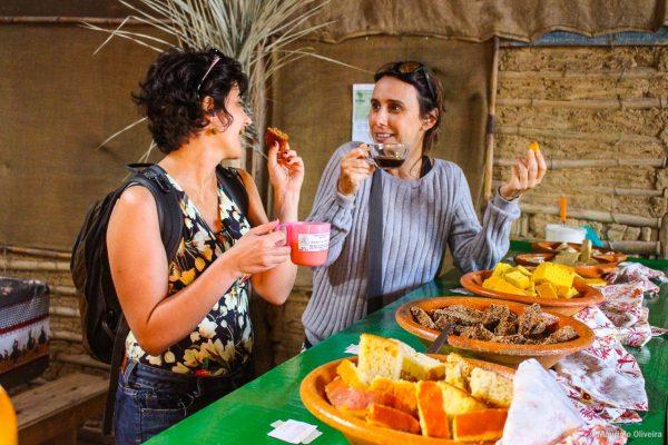 Degustação na Comunidade Acordi, em Imbituba - SC