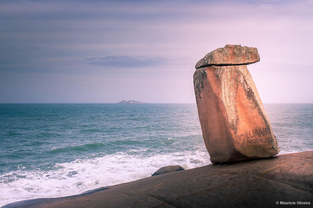 Pedra do Frade, em Laguna - SC