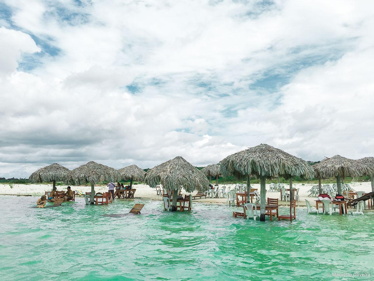 Tranquilidade na Lagoa do Paraíso - CE
