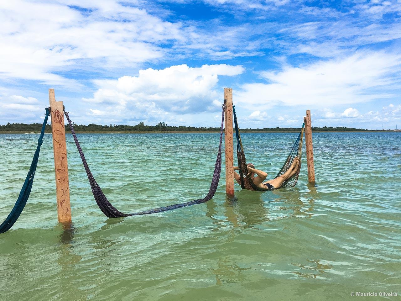 Praticamente sozinho curtindo a Lagoa do Paraíso - CE