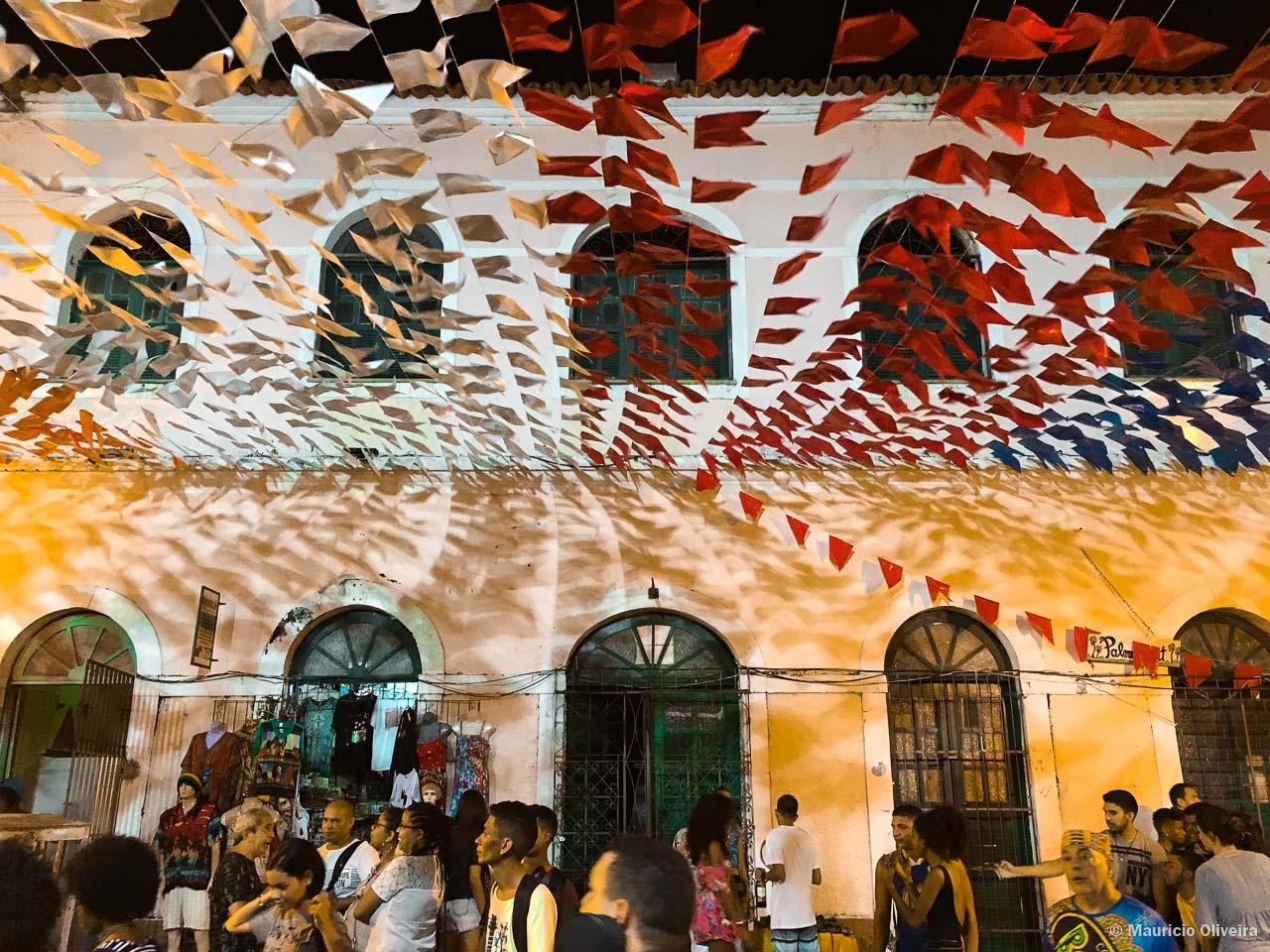 Festas juninas aquecem o centro histórico de São Luís do Maranhão