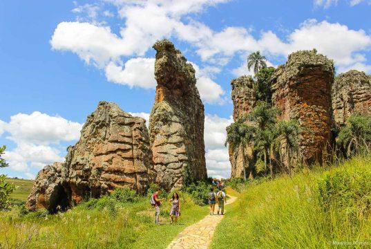 Os Arenitos do Parque Estadual de Vila Velha são impressionantes!