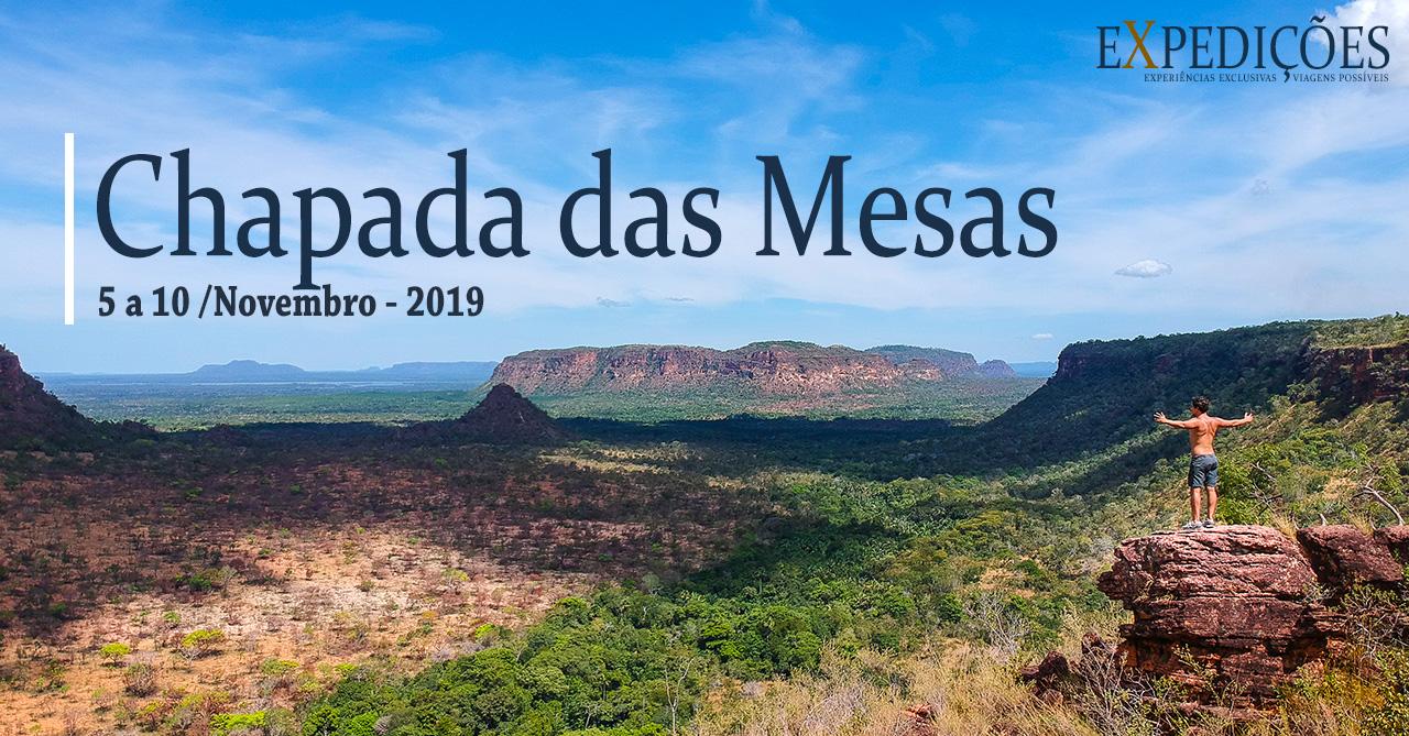 Chapada das Mesas - 5 a 10 de Novembro de 2019