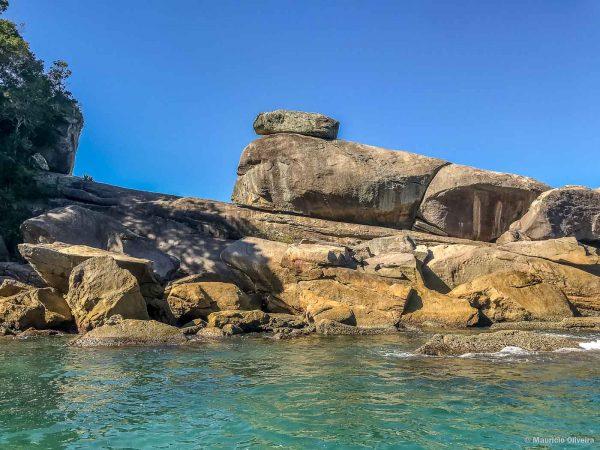 Enseada do Caxadaço, em Ilha Grande - RJ