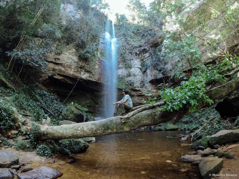 Cachoeira do Roncadeira em Taquaruçu