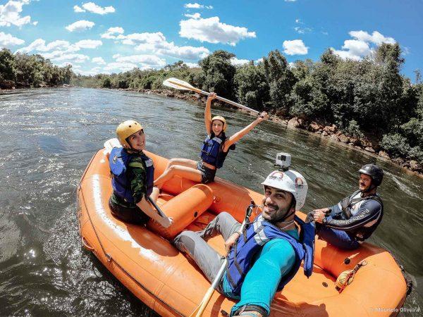 Rafting na Cachoeira da Velha