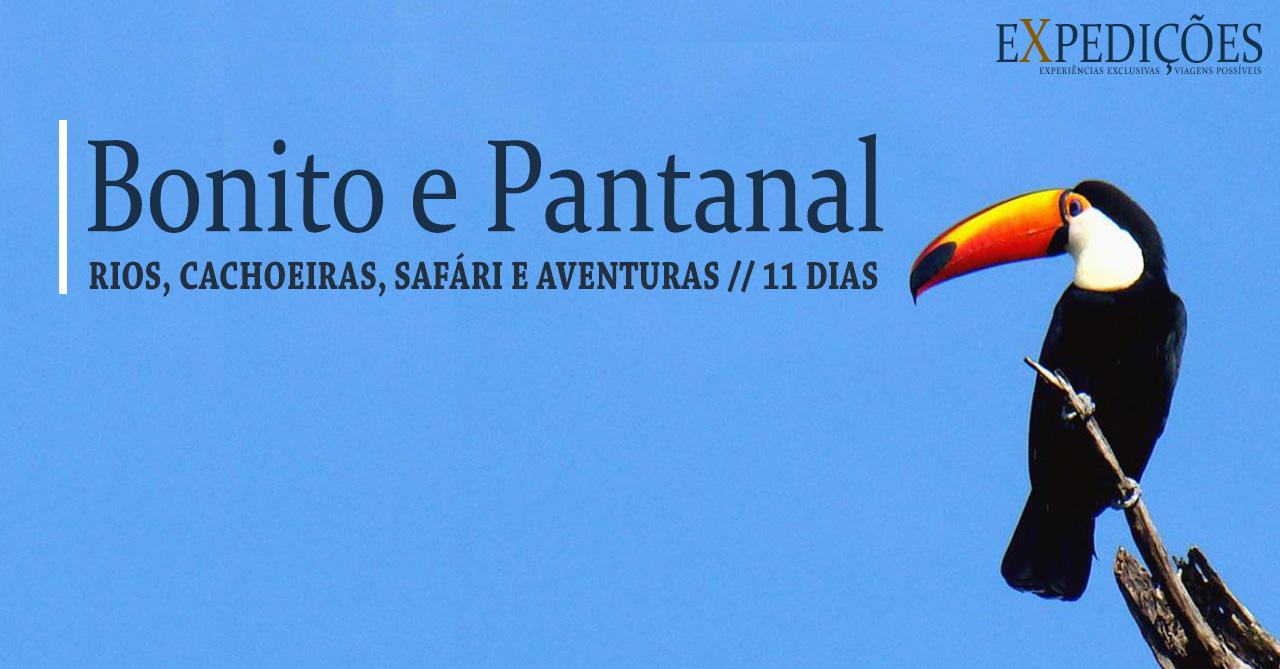 Expedição Bonito e Pantanal