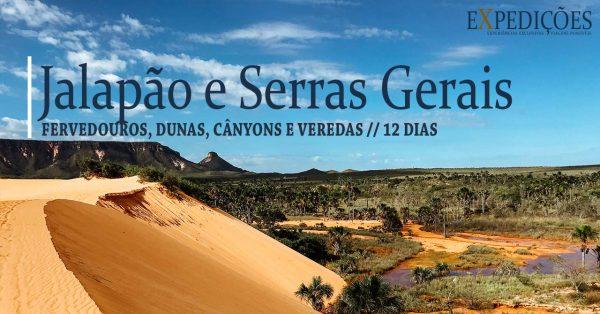 Expedição Jalapão e Serras Gerais